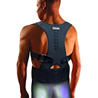 The Healing Universe - Kyphosis Bandage - Für eine Geradehaltung des Rückens und der Schultern (Black, XL) preisvergleich bei billige-tabletten.eu