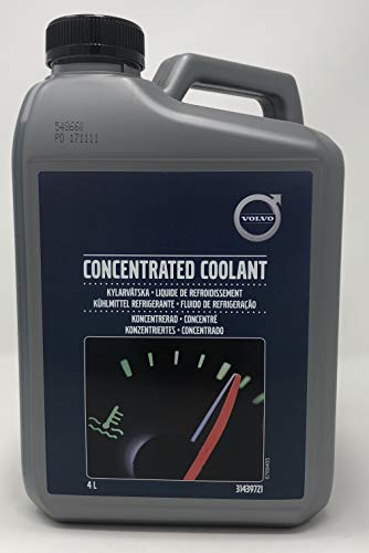 Volvo Antifreeze Concentrated Coolant - Original G11-4 liters
