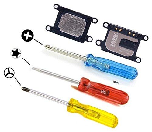 MMOBIEL Hörmuschel für iPhone 7 Hörer Ohrmuschel Lautsprecher Earphone Earpiece inkl 3 x Schraubenzieher für einfachere Installation