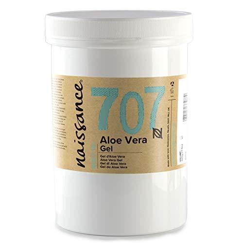 Naissance Gel di Aloe Vera 500g - Cruelty Free e Vegano. Lenisce, Rinfresca e Idrata la pelle. Adatto a tutti i tipi di pelle