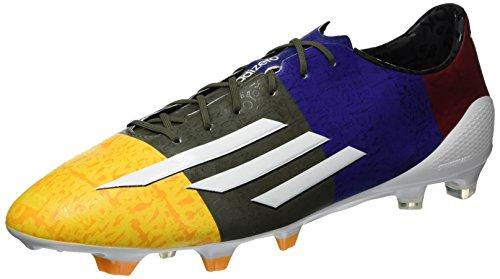 Adidas F50 Adizero FG Messi Chaussure De Football - blau / weiß / grün