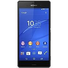 "Sony Xperia Z3 - Smartphone libre Android (pantalla 5.2"", cámara 20.7 Mp, 16 GB, Quad-Core 2.5 GHz, 3 GB RAM), negro (importado)"
