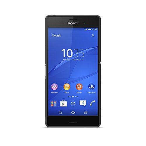 Sony Xperia Z3 Smartphone Débloqué 4G (Ecran : 5.2 pouces - 16 Go - IP 65 / IP68, Waterproof - Android 4.4 KitKat) Noir,