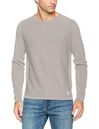 Marc O'Polo Herren Pullover 726515160068, Grau (Grey Stone Melange 939), Medium