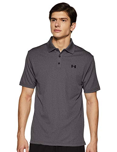 Under Armour UA Performance Polo, Uomo, Grigio (Carbon Heather), M