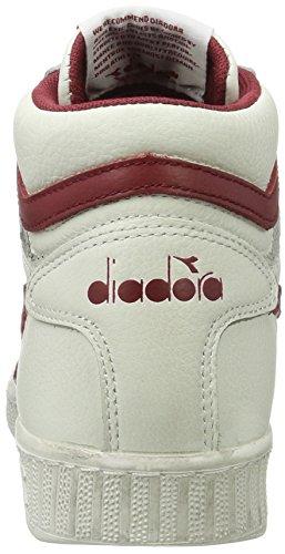 Diadora Game L - Chaussures Basses Et Unisexes À Talons Hauts - Adulte Multicolore (c5147 Blanc / Poivre Rouge)