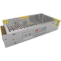 E-simpo 2pcs LED 12V Alimentatore, 12W-500W ingresso 220V AC Interruttore Modello Adattatore di Alimentazione, illuminazione a LED, Alloggiamento in alluminio, non-rainproof, solo per uso interno