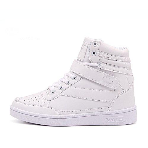 Donna Stivali Zeppa Sneakers Scarpe da Ginnastica da Polacchine Stivaletti Strappo Stealth Tacco 17 CM Scarpe Sportive