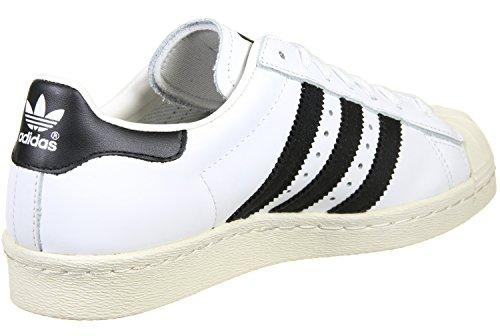 Adidas Superstar 80s (G61069) blanc noir