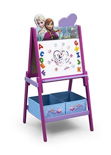 Delta Children TE87513FZ La Reine des Neiges Chevalet double face Bois Violet 55,88 x 55,88 x 115,70 cm