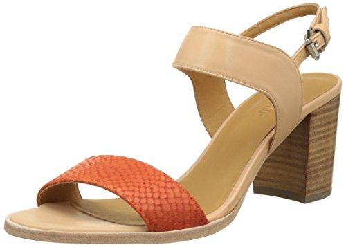 Emma GoFabienne - Laccetto alla caviglia Donna , rosso (Rouge (Pyton Coral & Calf Nude)), 40 EU