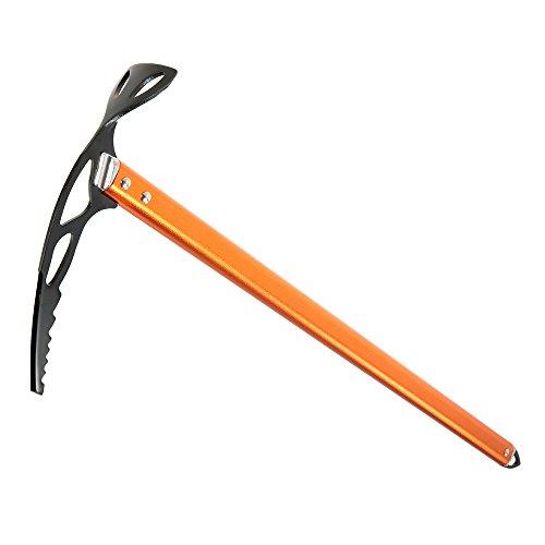 Lixada Eispickel für Wandern/Skill Training, Material: Aluminiumlegierung.(Bitte Benutzen Sie es nicht zum Eisklettern) -