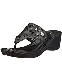 Hush Puppies Women's Wave_Toepost Leather Fashion Sandals