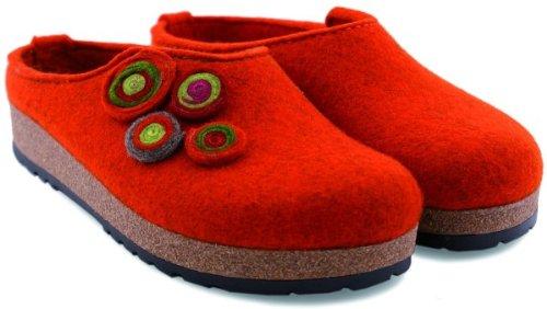 Haflinger Kanon 731023, Pantofole donna rost