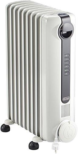 DeLonghi TRRS 0920 Calentador de aceite Interior Blanco 2000 W - Calefactor (Calentador de aceite, Interior, Blanco, Interruptor, Giratorio, 2000 W)