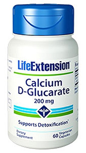 Life Extension, Calcium D-Glucarat, 200mg, 60 Veg. Kapseln