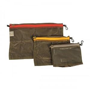 Tasmanian Tiger TT Mesh Pocket Set Rucksack Organizer Zusatz-Taschen in 3 Größen