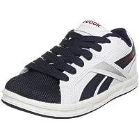 Reebok Ace IT Junior Kinder Tennis Schuhe Leder Sneaker Weiß