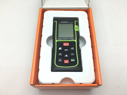 ᐅᐅ】sndway® portable digital laser entfernungsmesser maßband mit