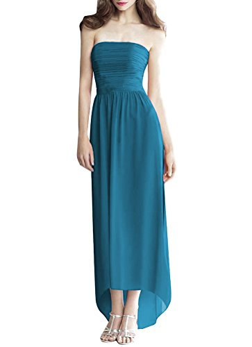 ShiYuan - Robe - Trapèze - Femme bleu sarcelle