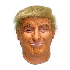 Idea Regalo - Hengyutoy Mask Donald Trump maschera - Perfetto per Carnevale e Halloween - Costume adulto - Lattice, Unisex Taglia unica