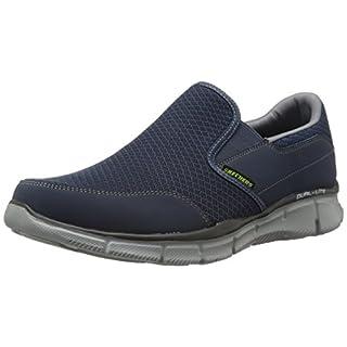 Skechers EqualizerPersistent, Herren Sneakers, Blau (NVGY), 44 EU