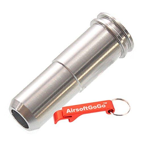 SHS Aluminium CNC 24.75mm Air Nozzle f?r AUG Softair AEG - Schl?sselanh?nger Inklusive
