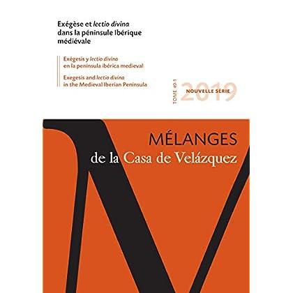 Exegese et Lectio Divina Dans la Peninsule Iberique Medievale