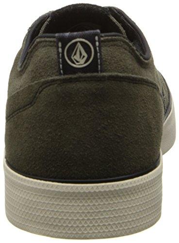 Volcom Steelo x Skullphone Shoe Army Vert Vert