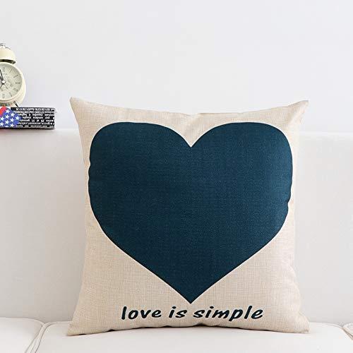 Lizes cuscini di design unici cuscino cuscino casa moderno minimalista moda ufficio lombare cuscino divano posteriore sedile con cuscino stile moda core (colore: ss-006) (colore : ss-007)