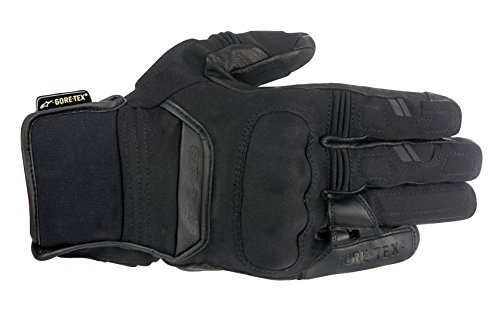 Alpinestars 3525116103X Polar Gore-Tex Gloves (Black, XXX-Large)