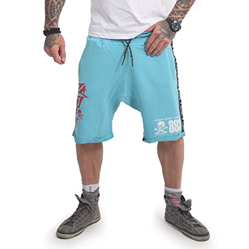 Yakuza Herren Track Tape Sweat Shorts -