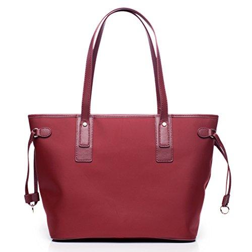 Borsa a tracolla singola/borsa di tela/borsetta/ol borsa pendolari/impermeabile borsa grande semplice-C C