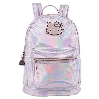 Mochila Hello Kitty Metallic 33cm