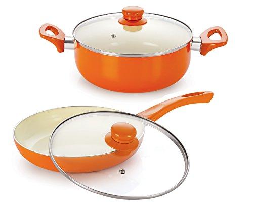 Nirlon-Ceramic-Cookware-Set-2-Pieces-Orange-CCFPCass20