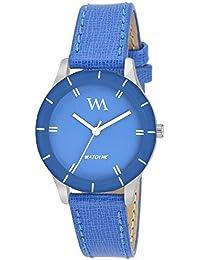 Watch Me Analogue Blue Dial Women's & Girl's Watch(Wmal-213Fc)