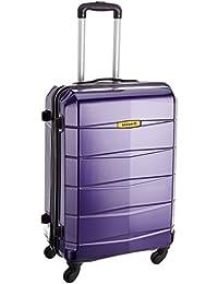 Safari Re-Gloss Polycarbonate 65 cms Dark Purple Suitcases (NEW-Re-Gloss-65-Purple-4WH)