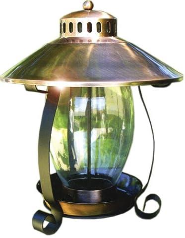 audobon Woodlink Coppertop Mangeoire lanterne en cuivre brossé
