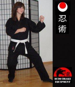 Karateanzug Black Adept schwarz