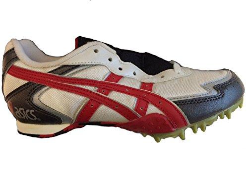 Asics , Chaussures dathlétisme pour homme Multicolore - Bianco/Rosso/Argento