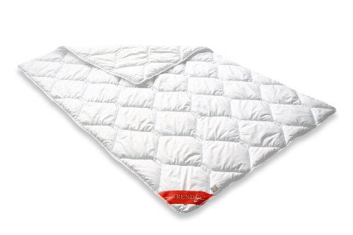 Badenia Bettcomfort Trendline Leicht Steppbett Micro Kochfest, 135 x 200 cm, weiß