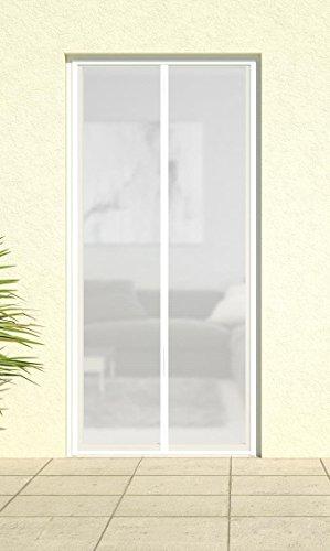 Magnet-Lamellenvorhang 'DELUXE', Magnetvorhang Türvorhang Fliegennetz Insektenschutz Vorhang 100 x 220 cm -