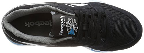 Reebok Herren Gl 6000 Pp Low-Top Black (Black/Alloy/Wild Blue/White)