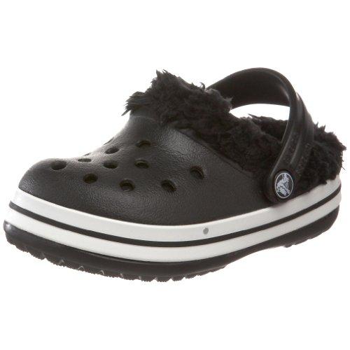 crocs 11128-060-125 Crocband Mammoth Kids, Unisex - Kinder Clogs & Pantoletten, Schwarz (Black), EU 29-31, (US ()