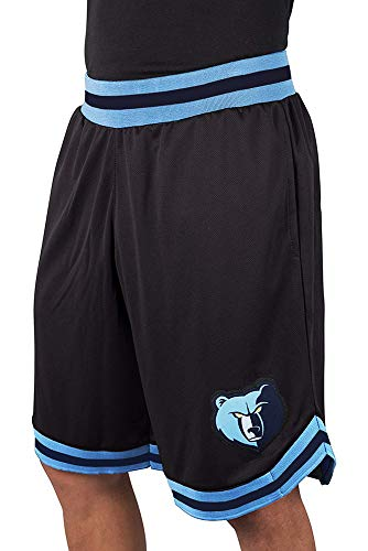 NBA Herren Mesh Basketball Shorts Woven Active Basic, Team Logo schwarz, Herren, GSM3547F, schwarz, Medium