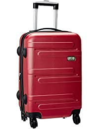 44070e6f10a7 Princeware Melbourne DLX ABS 78 cms Red Hardsided Check-in Luggage (6743 -RD