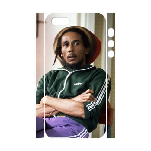 LP-LG Phone Case Of Bob Marley For iPhone 5,5S [Pattern-6] Pattern-4