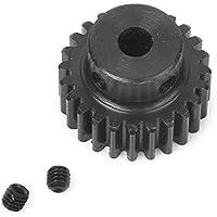 GZYF 1 Módulo 24T 8 mm Motor de diámetro de metal 45# rueda de engranaje