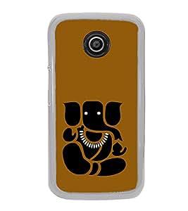 ifasho Modern Art Ganesh Back Case Cover for Moto E