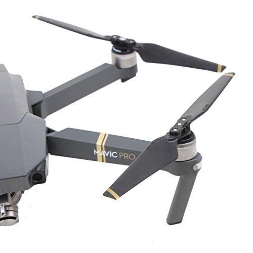 Propeller Für DJI Mavic Pro Drone , Ouneed 8 Stück Carbon Fiber Composite Falten Propeller Requisiten Klingen (Schwarz B)